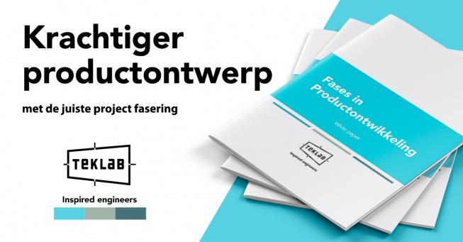 Krachtiger Productontwerp, download de gratis white-paper